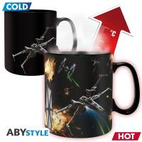 Mug thermo réactif Star Wars Space Battle ABYstyle 460 ml