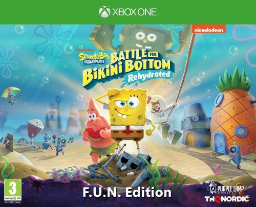 SpongeBob SquarePants Battle for Bikini Bottom Rehydrated F.U.N. Edition Xbox One