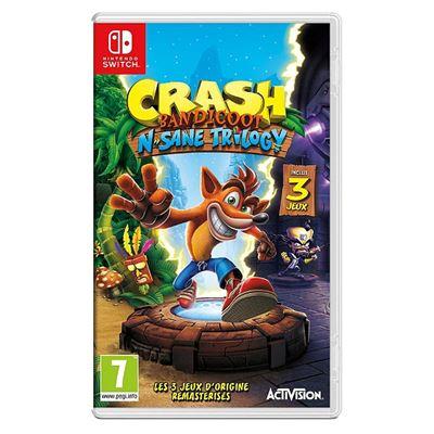 Crash Bandicoot N.Sane Trilogy Nintendo Switch