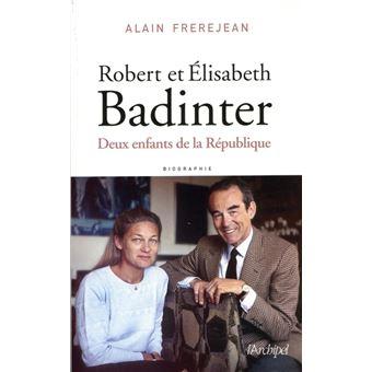 Robert et Élisabeth Badinter