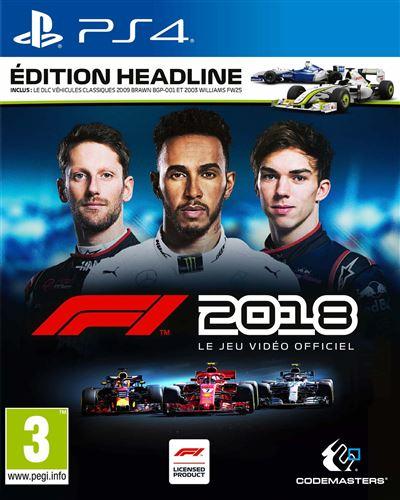 F1 2018 Édition Headline PS4