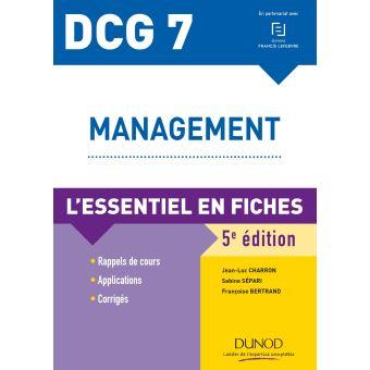 DCG 7, Management