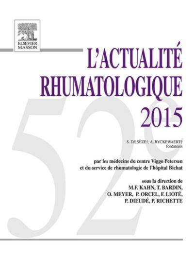 L'actualité rhumatologique 2015 - 9782294751479 - 69,99 €