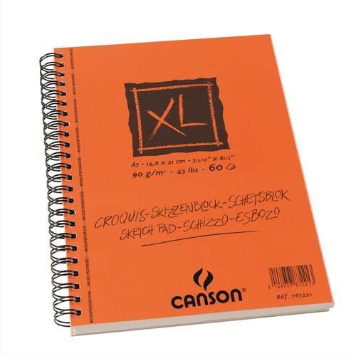 Album de 60 feuilles papier dessin Canson Croquis XL