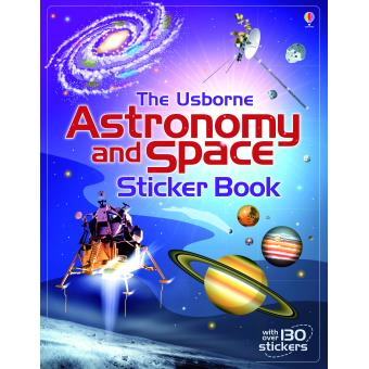 Astronomy and Space Sticker Book