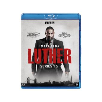 LUTHER COMPLETE COLLECTION S1-5-NL-BLURAY