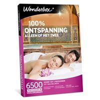 Wonderbox NL 100% ontspanning, alleen of met twee