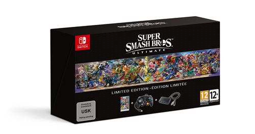Super Smash Bros Ultimate Edition Limitée Nintendo Switch