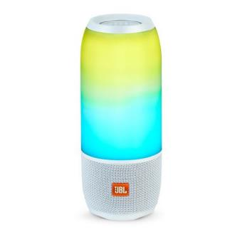 Enceinte portable Bluetooth JBL Pulse 3 Blanche