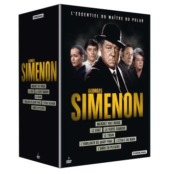 Coffret Georges Simenon 2016 7 films DVD