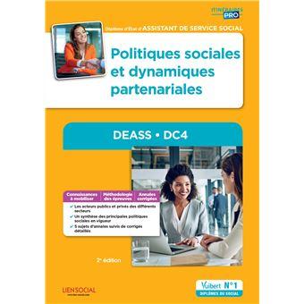 Politiques sociales et logiques partenariales, DEASS DC4