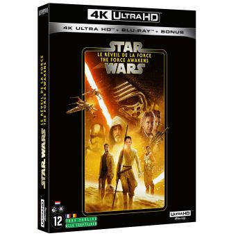 Star WarsStar Wars : Le Réveil De La Force Blu-ray 4K Ultra HD