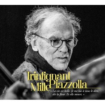 Trintignant Mille Piazzolla Digisleeve Inclus DVD et un livret de 24 pages