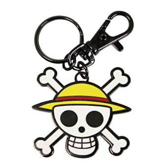 "ONE PIECE - PORTE-CLES ""SKULL - LUFFY"""
