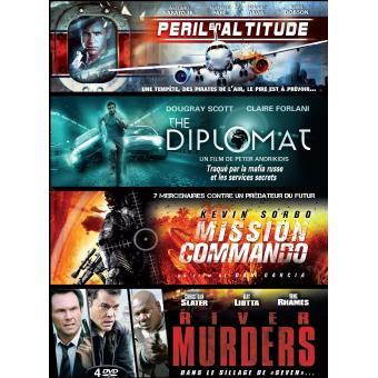 Coffret Action 4 films DVD