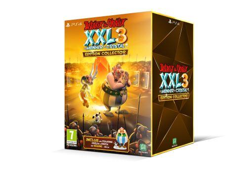 Astérix et Obélix XXL 3 Le Menhir de Cristal Edition Collector PS4
