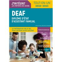 DEAF - Tout-en-un 2020-2021 - Diplôme d'État d'assistant familial