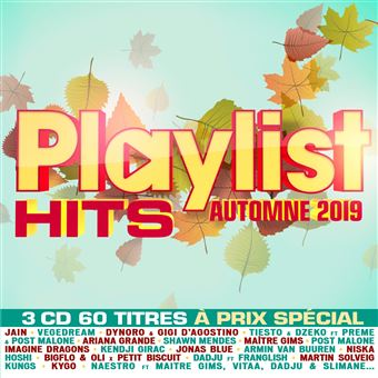 Playlist hits automne 2019