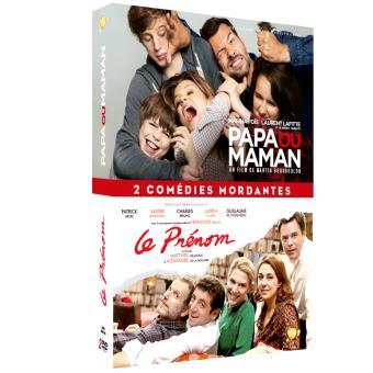 Papa ou MamanCoffret Papa ou maman + Le prénom DVD
