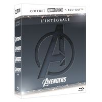 Coffret Avengers Intégrale Blu-ray