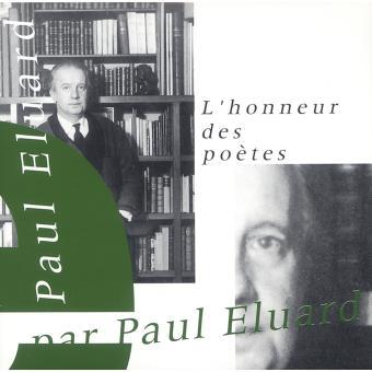 Paul eluard l honneur des poetes