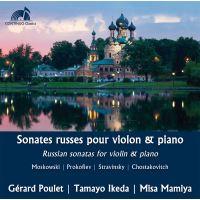 Sonates russes pour violon et piano