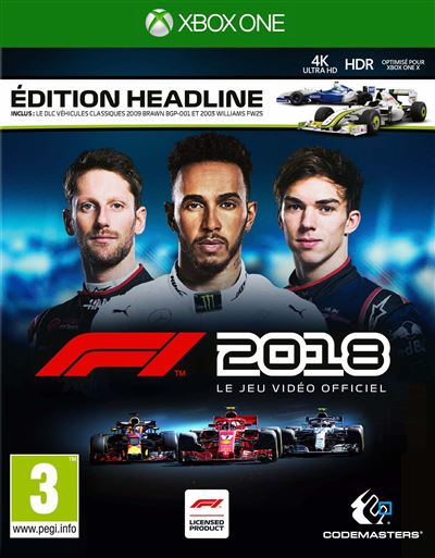 F1 2018 Édition Headline Xbox One