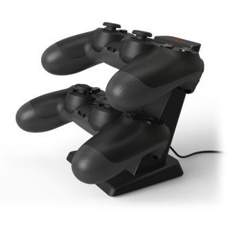 Double socle de charge Bigben pour manettes PS4