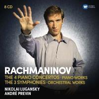 4 Piano concertos, 3 Symphonies Coffret