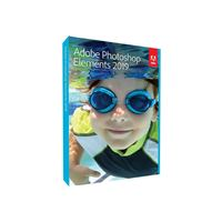Adobe Photoshop Elements 2019 Win/Mac UK Software