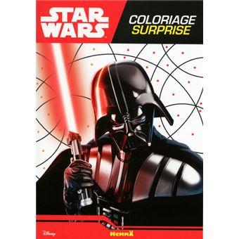 Star Wars Coloriage Surprise Disney Star Wars Coloriage Surprise Dark Vador
