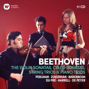 Violin Sonatas, Cello Sonatas, String Trios & Piano Trios - 11CD