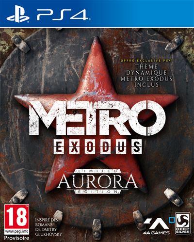 Metro Exodus Aurora Edition Limitée PS4