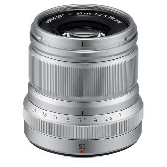 Objectif Fujifilm Fujinon XF 50 mm f/2 R WR Argent