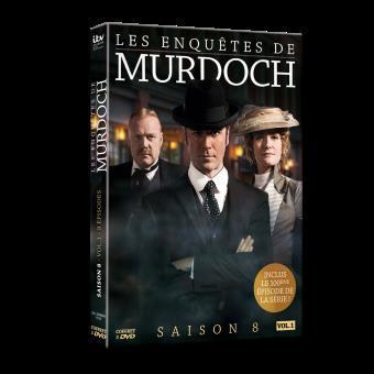 Les Enquêtes de MurdochLes enquêtes de Murdoch Saison 8 Volume 1 DVD