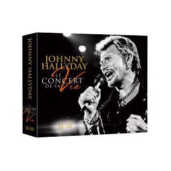 le concert de sa vie digipack edition fourreau 3 cd inclus dvd bonus johnny hallyday cd. Black Bedroom Furniture Sets. Home Design Ideas