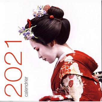 Calendrier 2021 Mural Calendrier mural 2021   Japon   broché   Collectif   Achat Livre