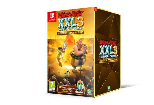 Astérix et Obélix XXL 3 Le Menhir de Cristal Edition Collector Nintendo Switch