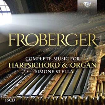 COMPLETE MUSIC FOR HARPSICHORD AND ORGAN/16CD