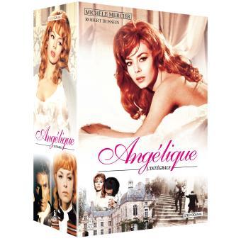 Angélique Marquise des AngesCoffret Angélique 5 films DVD