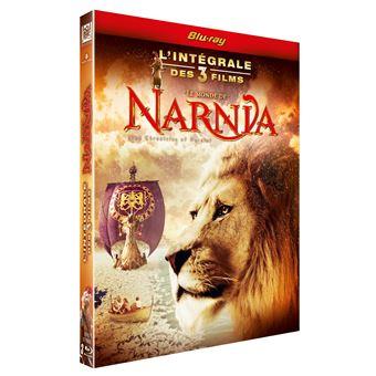 NarniaCoffret Narnia L'intégrale des 3 films Blu-ray