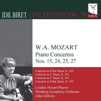 Concertos pour piano numéros 15, 24, 25, 27