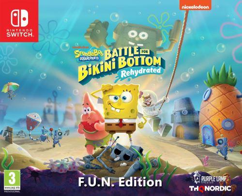 SpongeBob SquarePants Battle for Bikini Bottom Rehydrated F.U.N. Edition Nintendo Switch