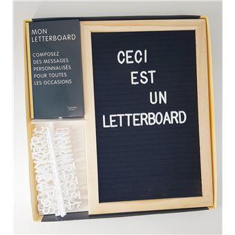Coffret Letterboard