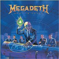 MEGADETH//EDITION LIMITEE//CADRE DISQUE DOR CD ET VINYLE//RUST IN PEACE