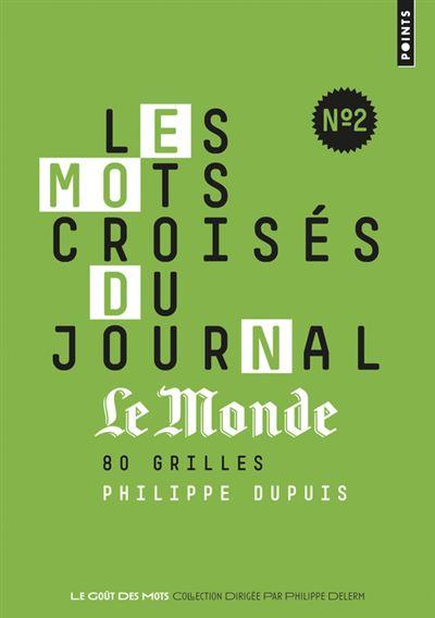 Les Mots Croisés Du Journal Le Monde N2 80 Grilles 80 Grilles