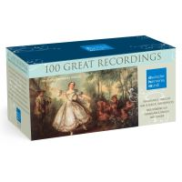 100 Great Recordings Coffret 100 CD Inclus un livret de 12 pages