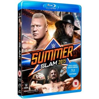 WWE Summerslam 2015 Blu-ray