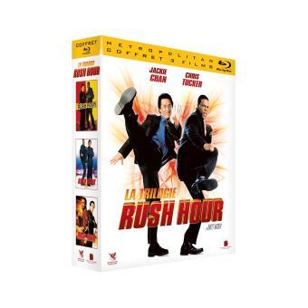Coffret Rush Hour La Trilogie Blu-ray