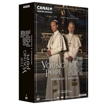 The Young PopeCoffret The New Pope et The Young Pope DVD